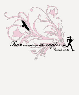 Soar on Wings Like Eagles Tee Shirt