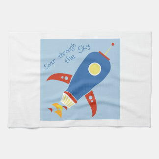 Soar Through The Sky Hand Towels