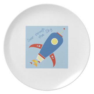 Soar Through The Sky Dinner Plates