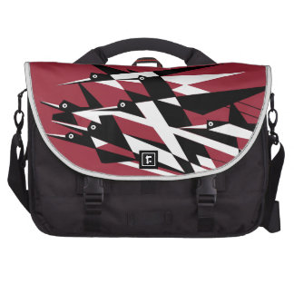Soar To Success Art Deco Geometric Birds Laptop Computer Bag