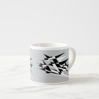 Soar To Success Art Deco Geometric Birds Espresso Cup