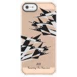 Soar To Success Art Deco Geometric Birds Permafrost Iphone Se/5/5s Case at Zazzle