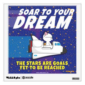 """Soar to Your Dream, Pythagoras"" Wall Decal"