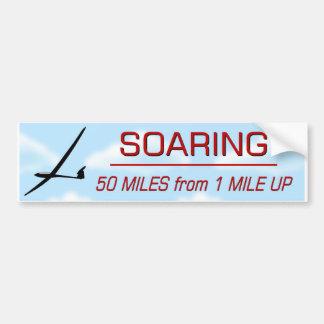 Soaring 50:1 Distance Bumper Stickers