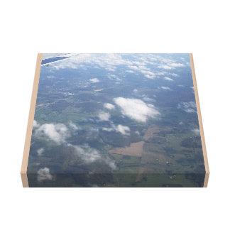 Soaring above Kentucky Canvas Print