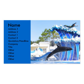 Soaring above the rest, Name, Address 1, Addres... Business Card