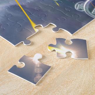 Soaring Anishinabek Thunderbirds Jigsaw Puzzle
