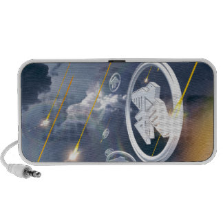 Soaring Anishinabek Thunderbirds Portable Speaker