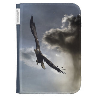 Soaring Bald Eagle & Cloud Kindle Case
