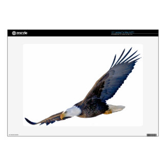 """Soaring Bald Eagle Decal For 15"""" Laptop"""
