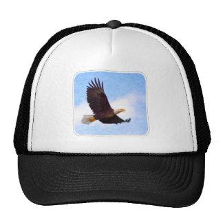 Soaring Bald Eagle Mesh Hat