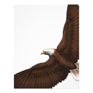 Soaring Bald Eagle Letterhead