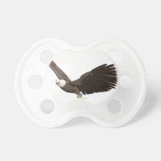 Soaring Bald Eagle Pacifier