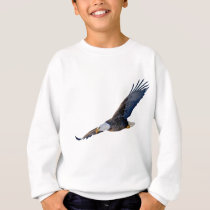 Soaring Bald Eagle Sweatshirt