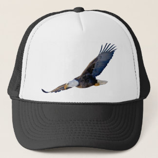 Soaring Bald Eagle Trucker Hat