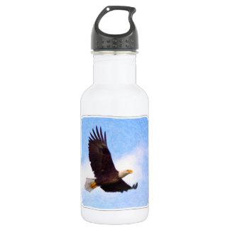 Soaring Bald Eagle Water Bottle