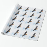 Soaring Bald Eagle Wildife Photo Art Wrapping Paper