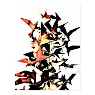 Soaring Birds Postcard