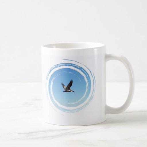 Soaring Brown Pelican Mug