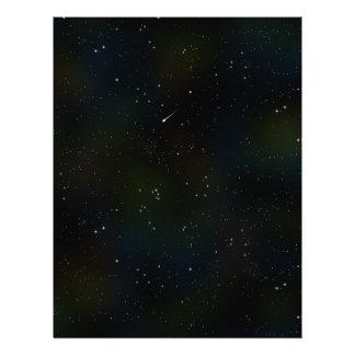 Soaring Comet Letterhead