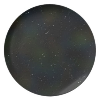 Soaring Comet Melamine Plate