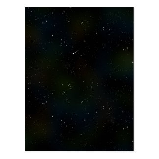 Soaring Comet Postcard