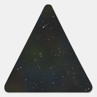 Soaring Comet Triangle Sticker