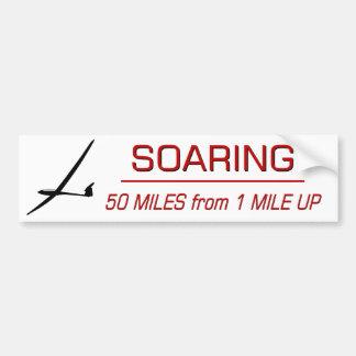 Soaring Distance Bumper Sticker