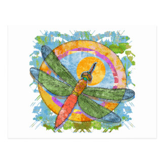 Soaring Dragonfly Post Cards