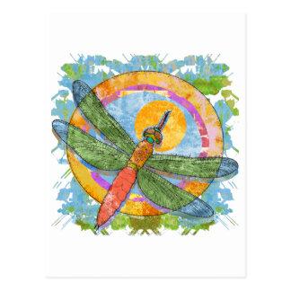Soaring Dragonfly Postcard