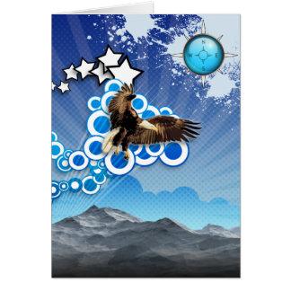 Soaring Eagle Card