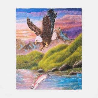 Soaring Eagle Fleece Blanket, Medium
