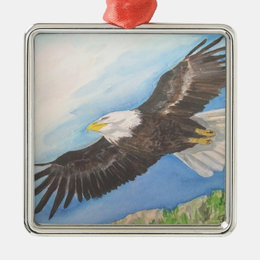Soaring Eagle Ornament