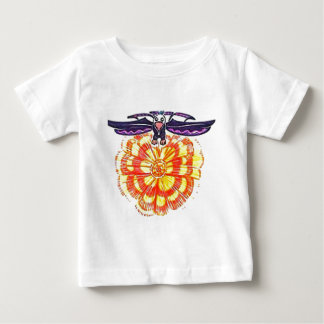 """Soaring Eagle over the Sun"" Baby T-Shirt"