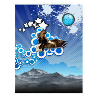 Soaring Eagle Postcard