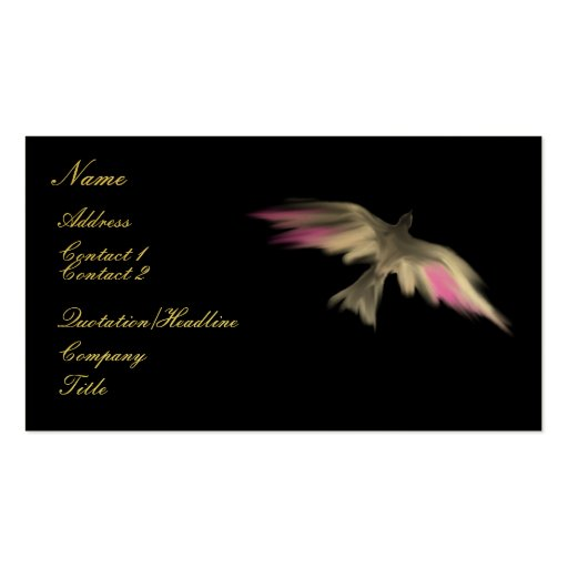 Soaring Falcon ~ Business Card (Customize)