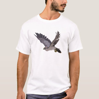 Soaring Falcon with Outstretched Wings T-Shirt