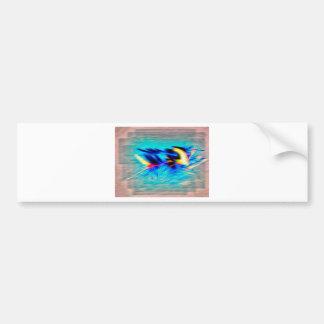 Soaring Flamingo gifts Bumper Sticker