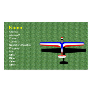 Soaring Gliding Sailplane Glider Business Card