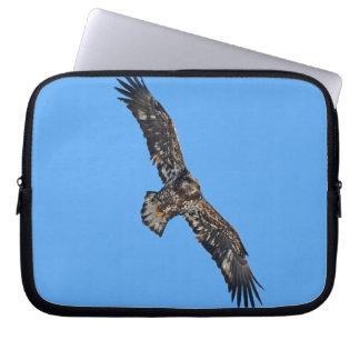 Soaring Golden Eagle Wildife Photo Art Computer Sleeve