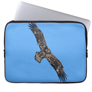 Soaring Golden Eagle Wildlife Photo Art Computer Sleeve