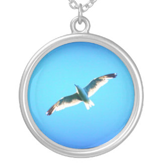soaring gull necklace