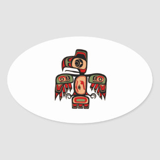 Soaring Heights Oval Sticker