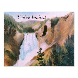 "Soaring High II Invitation 4.25"" X 5.5"" Invitation Card"