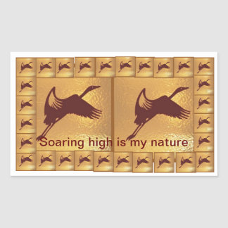 Soaring High is my Nature  - Kids Class Giveaway Sticker