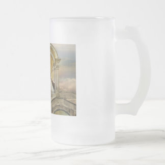 Soaring in heavens 16 oz frosted glass beer mug