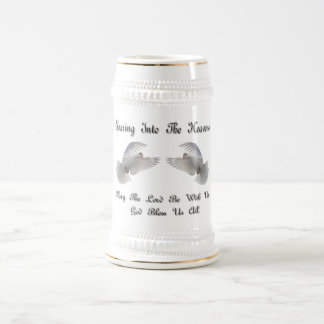 Soaring Into The Heavens 18 Oz Beer Stein