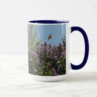 Soaring Monarch Butterfly Mug