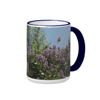 Soaring Monarch Butterfly Coffee Mugs
