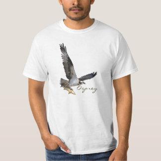 Soaring Osprey Fish Hawk with Fish Catch Shirt